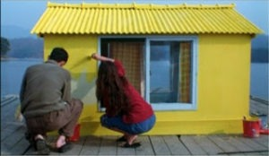 l'isola casetta gialla