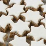 Zimtsterne biscotti natalizi