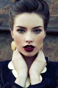 rossetto borgogna modella