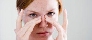 Occhiaie stanchezza