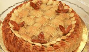 Torta mandorle siciliana