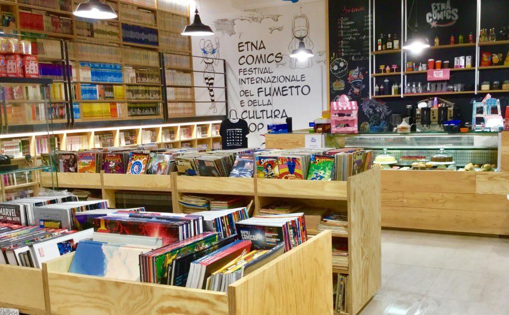 etna comics caffetteria