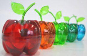 l'arte del riciclo bottiglie plastica