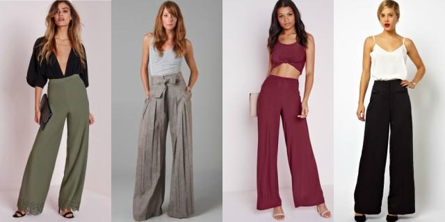 ordinare on-line ultima collezione Prezzo del 50% Pantaloni a palazzo: come abbinare il trend della P/E 2017