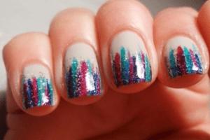 waterfall nails
