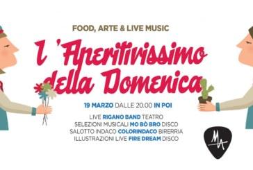 """Nuovo evento al MA: dai Rigano Band e i ColorIndaco per l'aperitivo """"No Ordinary Sunday"""""""