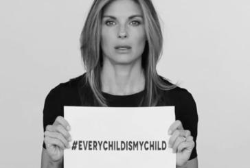 #EVERYCHILDISMYCHILD il messaggio contro la guerra in Siria