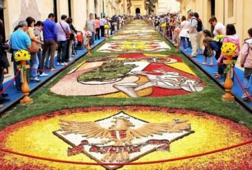 Infiorata di Noto: anche quest'anno la città barocca fiorisce