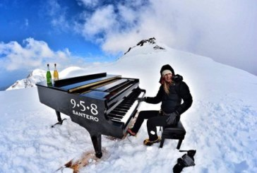 Emozioni uniche ad alta quota, Elisa Tomellini e il suo concerto record a 4460 metri