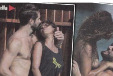 Alex Belli e Mila Suarez senza veli e hot alle Maldive