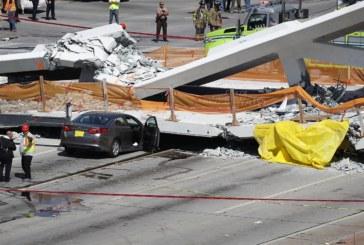 Triste storia per il nuovo ponte di Miami: crolla ed è subito strage