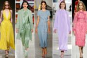 I colori moda da indossare per questa primavera-estate 2018