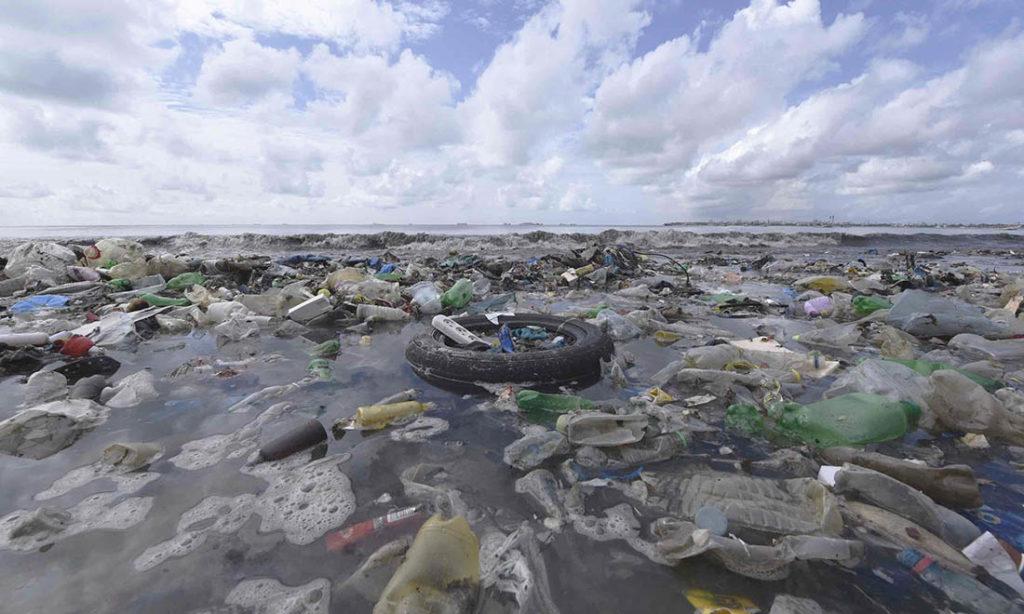 isole plastica accumulo